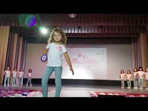 Железногорск- Илимский. Конкурс Mini Miss 2019г. Выход.