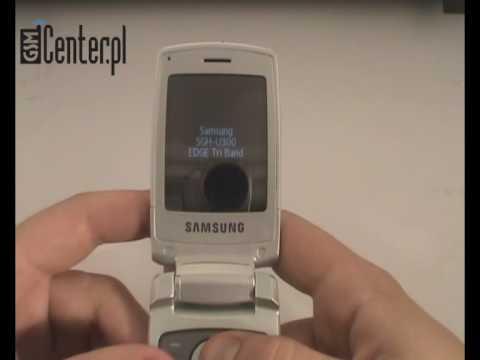 Prezentacja telefonu Samsung SGH-U300