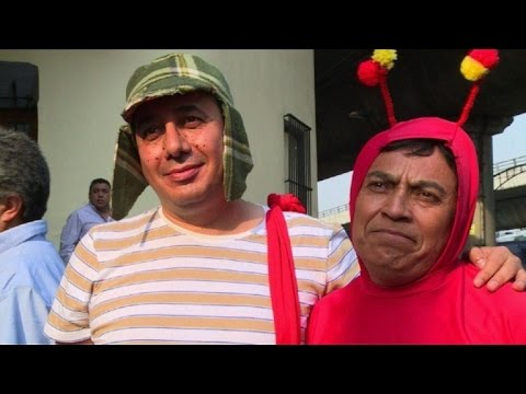 """México homenajea a """"Chespirito"""""""