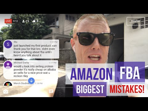 Amazon FBA Selling 🔴 Top 3 Beginner Mistakes, Private Label Sourcing / Alibaba Importing | Bangkok