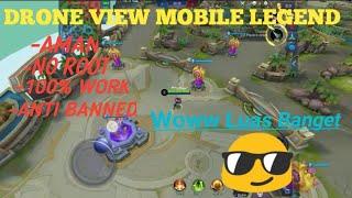 Tips cara memperluas map di mobile legend atau DRONE VIEW menggunakan hp XIAOMI/androi nougat keatas