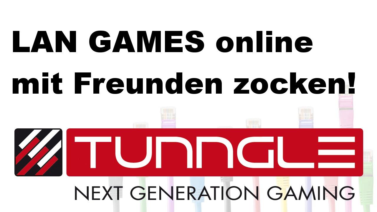 LAN GAMES Online Zocken Mit Tunngle Bastelrunde Tutorial - Minecraft lan server erstellen tunngle
