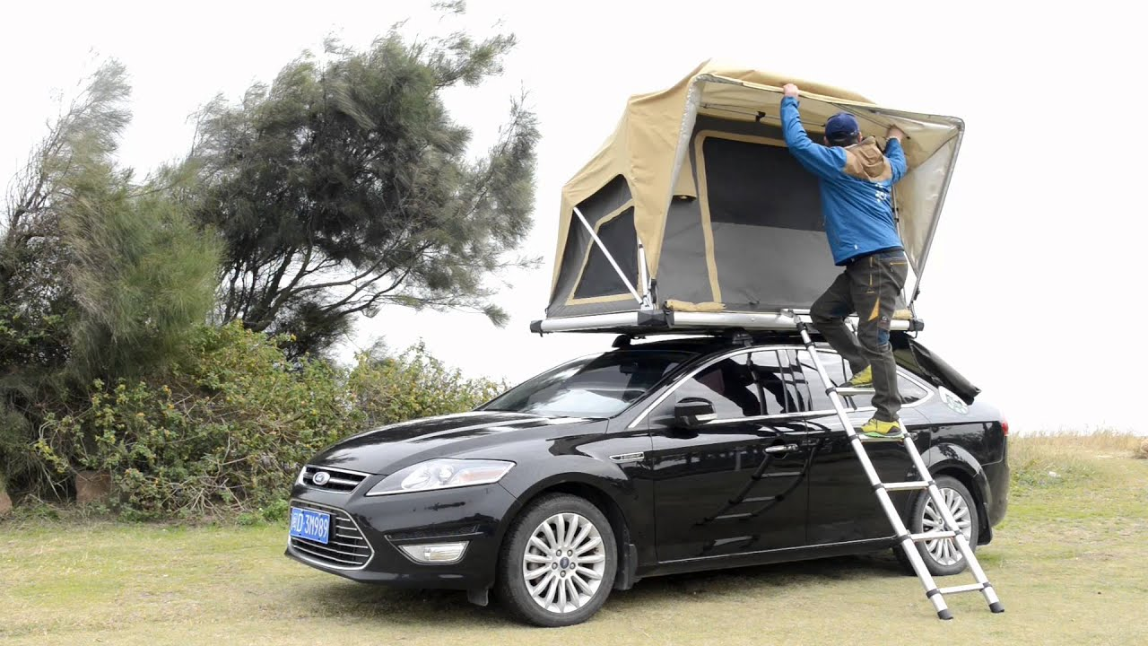 sc 1 st  YouTube & Manual car roof tent - Normandy ????-??????? - YouTube memphite.com