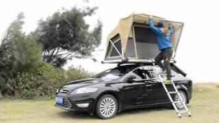 Wildland Manual car roof tent - Normandy I(秋野地戶外2016-手撑車頂帳篷)
