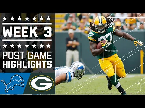 Lions vs. Packers | NFL Week 3 Game Highlights