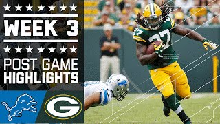 Lions vs. Packers (Week 3) | Game Highlights | NFL