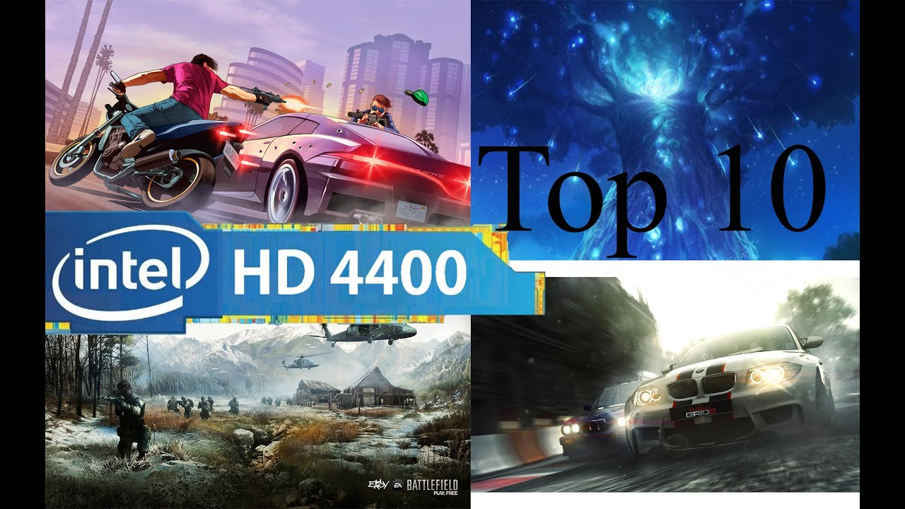Top 10 Best Games For Intel HD Graphics 4400