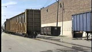 Kingsbury Job Part 2 Chicago Railroad Street Running 1999