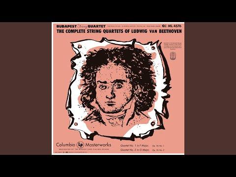 String Quartet No. 1 In F Major, Op. 18: II. Adagio Affettuoso Ed Appassionato