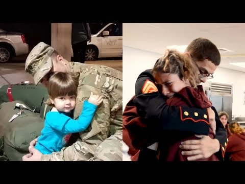 Surprise Family Homecoming 2020 | Try Not To Cry  *EMOTIONAL*