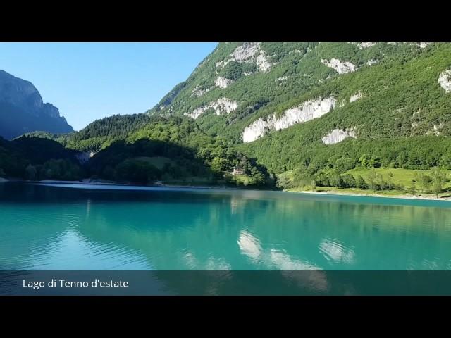 Lago di Tenno d'estate