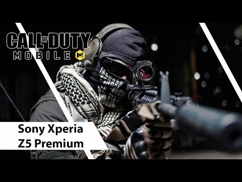 Sony Xperia Z5 Premium Gaming Test - Call Of Duty : Mobile