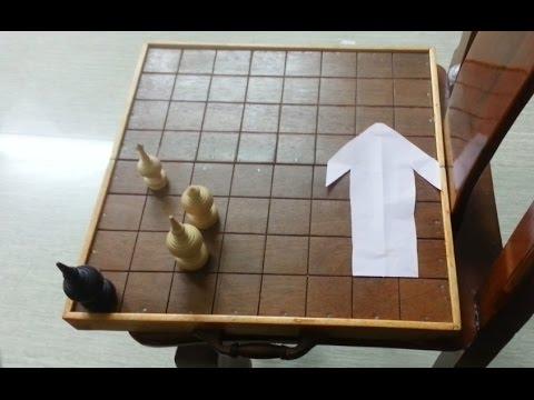 Cambodian Thai Chess 008 -   behind of KOUL (Killed move 14) | Khmer Ouk Makruk - Kohn