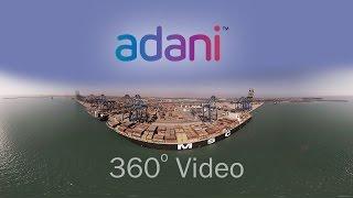 Mundra Port in VR   APSEZ   Adani   360° Video