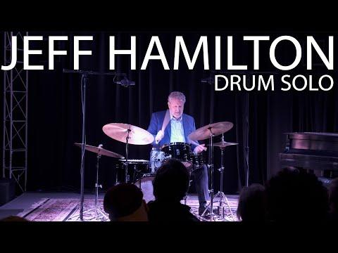 Jeff Hamilton Drum Solo - Memphis Drum Shop - 01/23/20