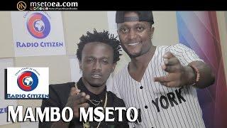 BAHATI Aambiwa Ukweli Na MAMA Live On Mambo Mseto (Radio Citizen) Na Mzazi Willy Tuva