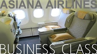 Asiana Airlines BUSINESS CLASS|Hong Kong to Seoul|TRIP REPORT Airbus A330-300
