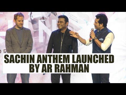 Sachin Tendulkar movie anthem released by AR Rahman; Watch Video | FilmiBeat