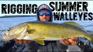 Lindy Rigging For Summer Walleyes