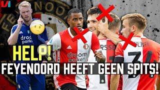 Spitsen Zoektocht Bij Feyenoord: 'Liever Géén Spits Dan Een Occasion Met Deuken en Lekke Banden!'