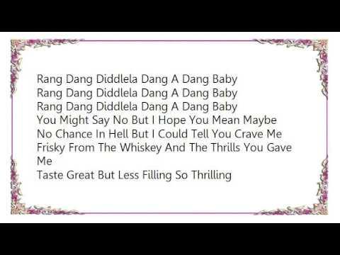 Bloodhound Gang - Rang Dang Lyrics