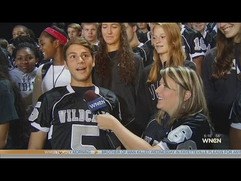 #WNCNBlitz visits East Chapel Hill High School at 6 a.m.