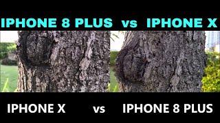 IPHONE 8 PLUS vs IPHONE X CAMERA