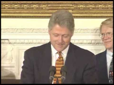 Pres. Clinton's Remarks to Natl. Info. Infrastructure Advisory Council (1996)