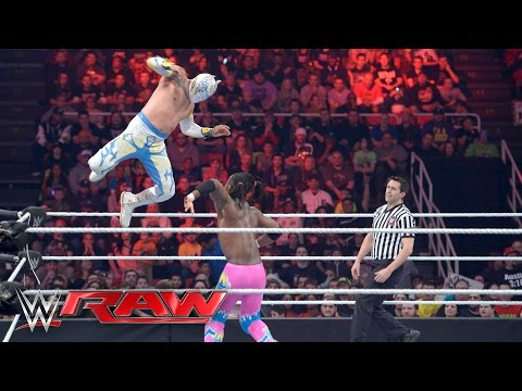 neville-&-the-lucha-dragons-vs.-the-new-day:-raw,-february-22,-2016