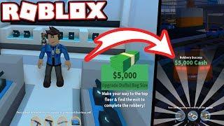 COP ROBBERY - JEWELRY STORE HEIST!!! (Roblox Jailbreak)