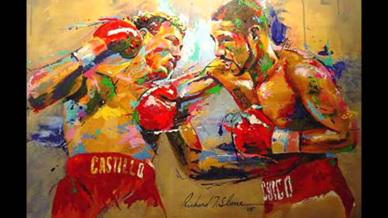 Art of Boxing - Richard T. Slone Paintings (HD Video) - YouTube