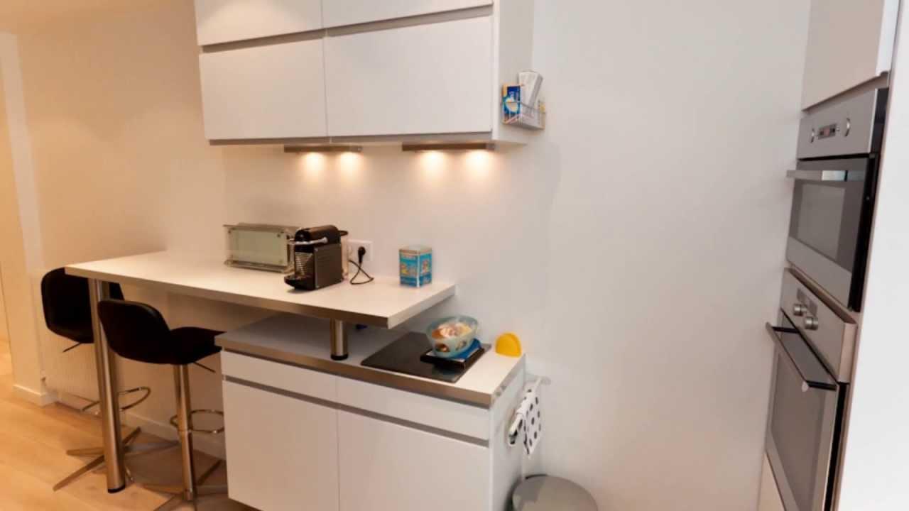 r novation d 39 appartement au design pur paris par la maison des travaux boulogne 92 youtube. Black Bedroom Furniture Sets. Home Design Ideas