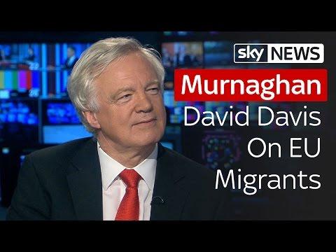 Murnaghan   David Davis On EU Migrants