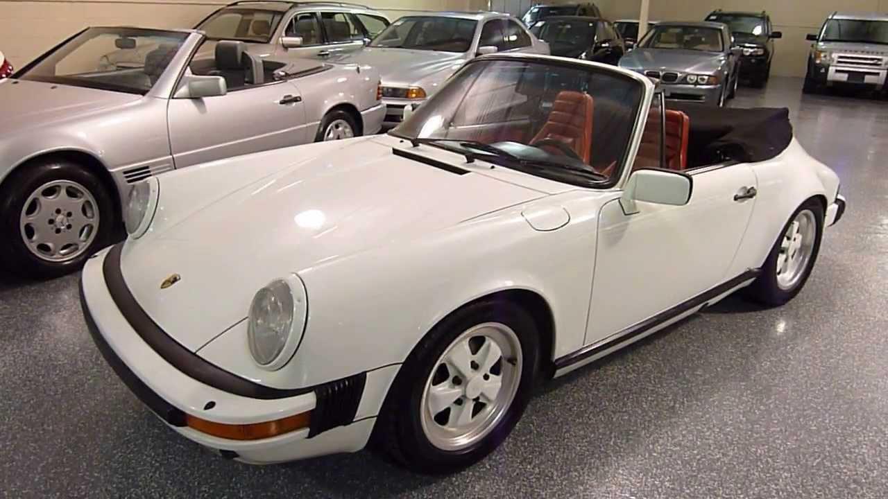 1984 porsche 911 2dr cabriolet carrera convertible 2223 sold youtube. Black Bedroom Furniture Sets. Home Design Ideas