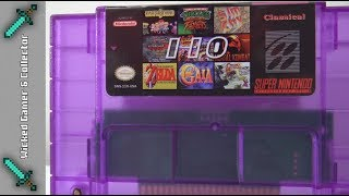 """2018"" SUPER 110 in 1 - Multi Game Cart Game Collection / Super Nintendo / SNES"
