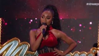 Normani- Motivation (2019 Streamys)
