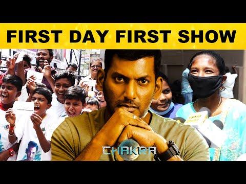 Chakra Movie Fans Reaction | Vishal, Shraddha Srinath | M.S. Anandan | Yuvan Shankar Raja | VFF