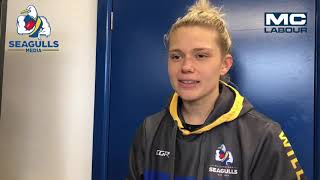 Seagulls Media | Pedersen and Heard post game - VFLW Round 11