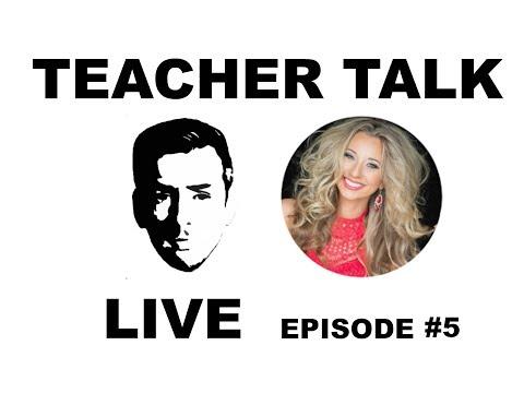 Teacher Talk Live   Episode 5 w/ A Classroom Diva