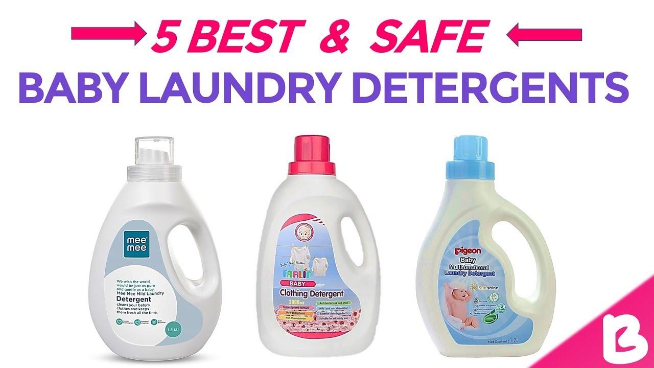 5 Best & Safe Baby Laundry Detergents