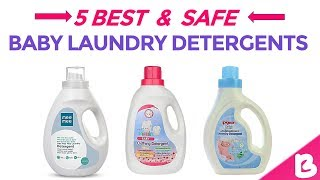 5 Best & Safe Baby Laundry Detergents in India with Price