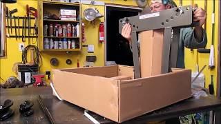 Episode 25. Unboxing Harbor Freight 12 Ton Pipe Bender for the go kart frame.