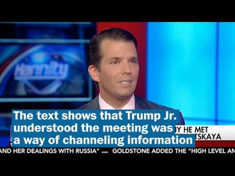 Thumbnail: Donald Trump Jr. defends his meeting with Russian lawyer