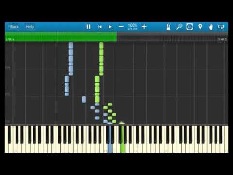 [Synthesia Hard] Kung Fu Piano - Cello Ascend Piano Tutorial