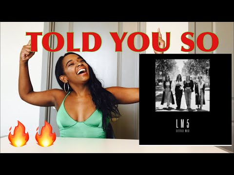 Little Mix - Told You So (Audio) REACTION