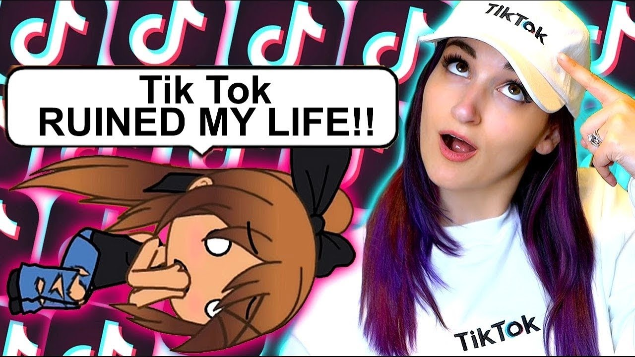 My Tiktok Obsession Ruins My Life Weird Gacha Life Story Reaction