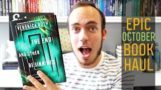 October 2019 Epic Book Haul | The End and Other Beginnings, Angel Mage, & More! | Epic Reads