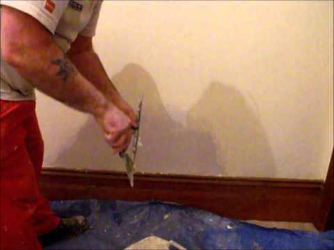 How to repair a damp wall temporarily ~ Hawthorn Plaster Repairs