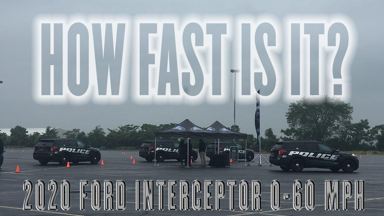 2020 Ford Police Interceptor 0 60 Mph 3 0l Ecoboost V6 3 3l Hybrid V6 3 3l V6
