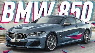 BMW 8-Series Coupe M850i 2019 // Большой Тест Драйв